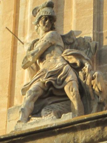 San Miguel. Catedral de Granada. Foto: Francisco López