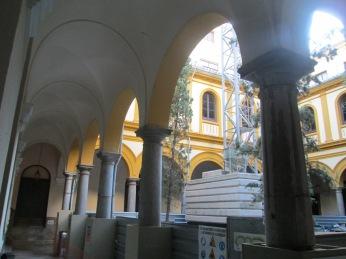 Patio de la Facultad de Derecho. Granada. Foto: Francisco López