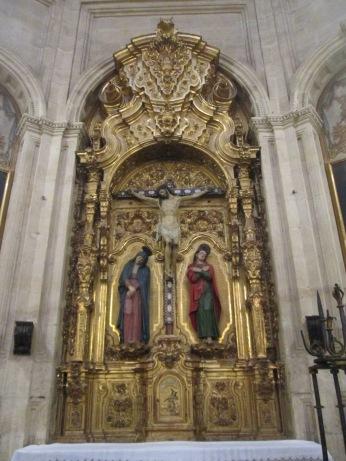 Cristo, la Virgen y San Juan. El Sagrario. Foto: Francisco López