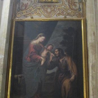 Sagrada Familia. Atanasio Bocanegra. El Sagrario. Foto: Francisco López