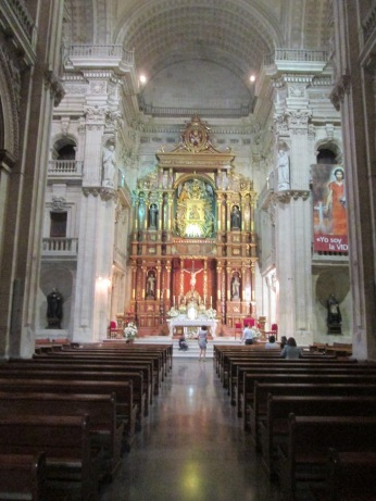 Interior. Igl. del Perpetuo Socorro. Granada. Foto: Francisco López