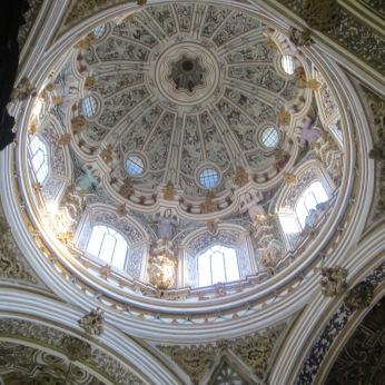 Cúpula. Virgen de las Angustias. Granada. Foto: Francisco López