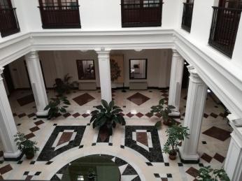 Patio. Palacio de Bibataubín. Granada. Foto: Francisco López