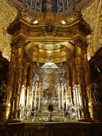 Camarín de San Juan de Dios. Granada. Foto: Francisco López