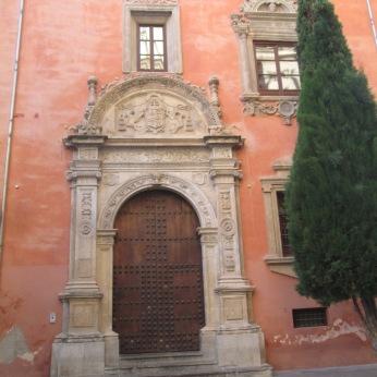 Palacio de la Curia. Portada. Granada. Foto: Francisco López
