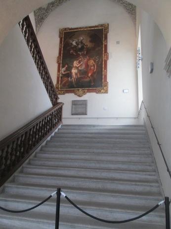 La Madrassa. Escaleras. Granada. Foto: Francisco López