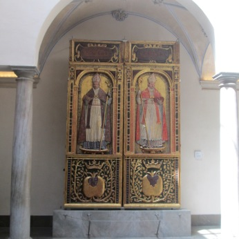 Patio de la Madrassa. San Cecilio y San Gregorio Bético. Granada. Foto: Francisco López