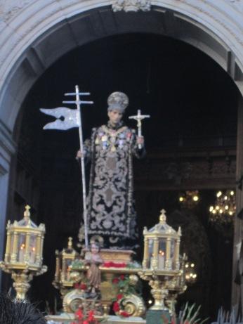 Imagen del santo. Foto: Francisco López
