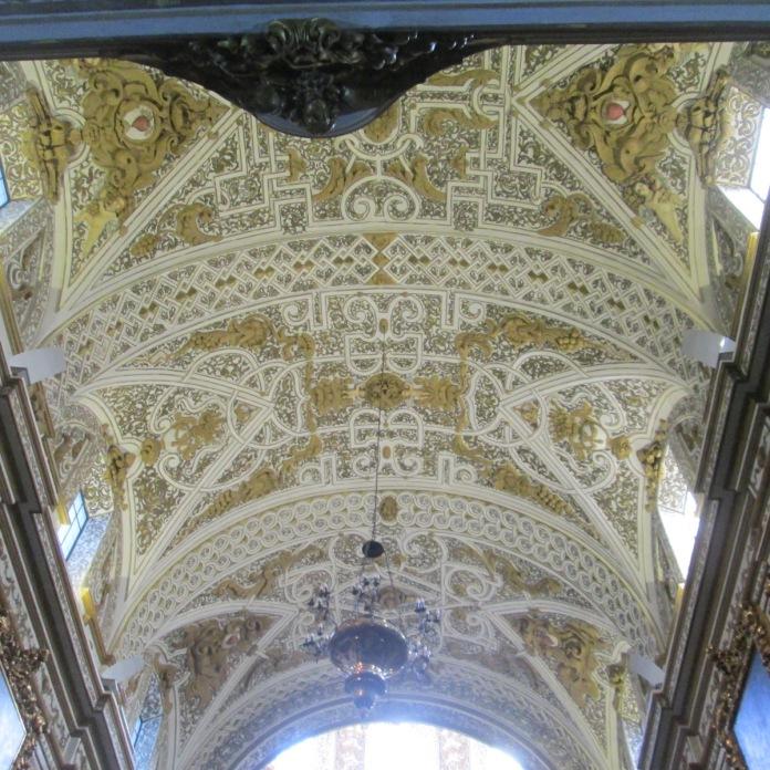 Bóveda. Virgen de las Angustias. Granada. Foto: Francisco López