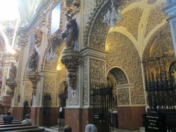 Decoración interior y Apostolado. Virgen de las Angustias. Foto: Francisco López