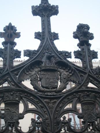 Detalles: símbolos de los RR. Católicos. Granada. Foto: Francisco López