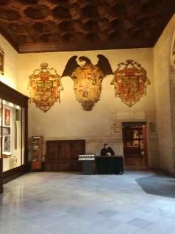 Interior de la Lonja. Granada. Foto: Francisco López