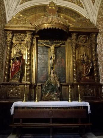 La Crucifixión. Virgen de las Angustias. Granada. Foto: Francisco López