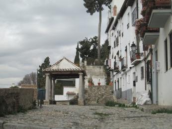 Placeta Puerta del Sol. Granada. Foto: Francisco López