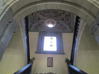 Escalera de Santa Cruz la Real. Granada. Foto: Francisco López