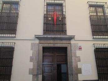 Comendadoras de Santiago. Realejo. Granada. Foto: Francisco López