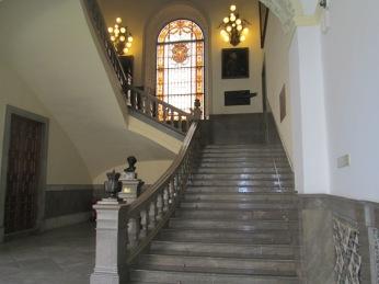 Escaleras del Ayuntamiento. Granada. Foto: Francisco lópez