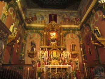 Carmelitas Calzadas. Capilla. Granada. Foto: Francisco López