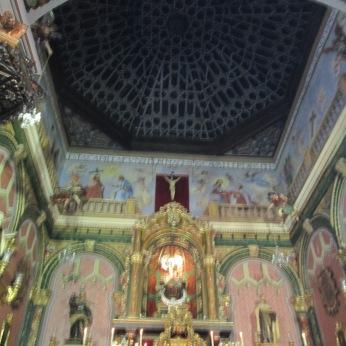 Carmelitas Calzadas. Capilla . y cubierta de maderaGranada. Foto: Francisco López