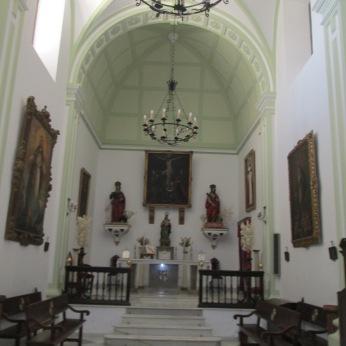 Capilla. Convento de las Dominicas de El Realejo. Granada. Foto: Francisco López
