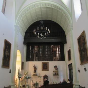 Coro. Convento de las Dominicas de El Realejo. Granada. Foto: Francisco López