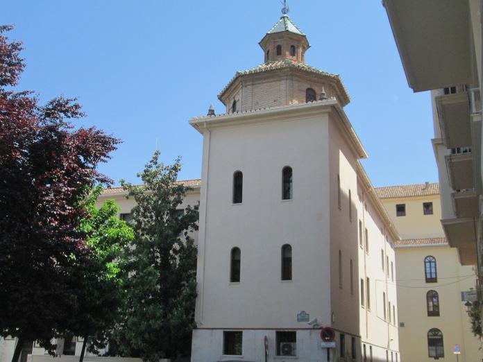 Pabellón del Coristado (comisaría). Granada. Foto: Francisco López