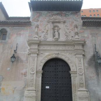 Puerta mudéjar. San Cecilio. Granada. Foto: Francisco López