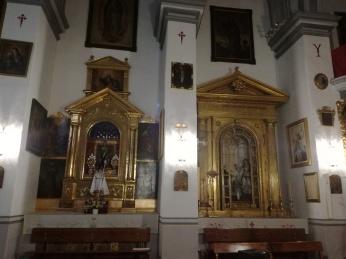 Comendadoras de santiago. Interior de la Iglesia. Realejo. Foto: Francisco López