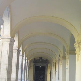 Galería del claustro de sanata Cruz la real