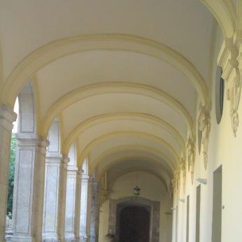 Galería del claustro de Santa Cruz la Real