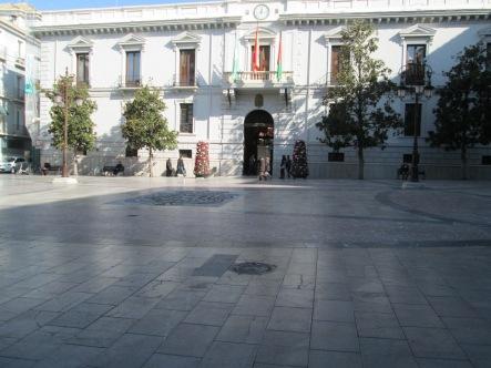 Fachada del Ayuntamiento de Granada. Convento del Carmen. Foto: Francisco López