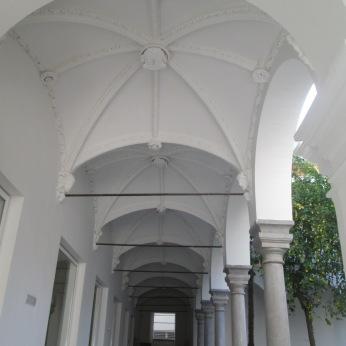 Escuela de arquitectura. Galería inferior. Realejo. Foto: Francisco López