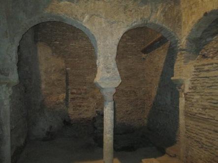 Baños árabes. Palacio de Villaalegre. Granada. Foto: Francisco López