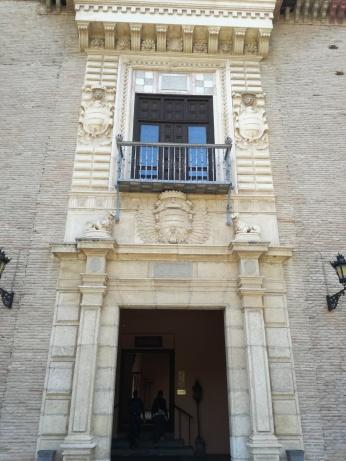 Fachada manierista. Palacio de los Córdova. Granada. Foto: Francisco López