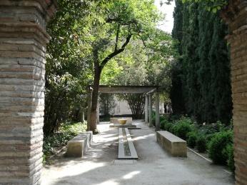 Jardines del Palacio de los Córdova. Granada. Foto: Francisco López