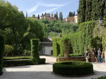 Jardines del Palacio de los Córdova. Granada