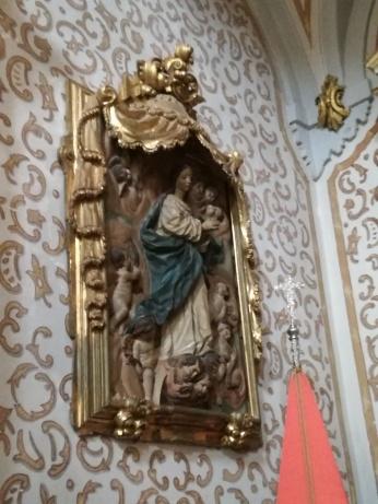 Relieve de la Inmaculada de Duque Cornejo. San Pedro y San Pablo