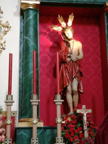Cristo de la Sentencia de José de Mora. San Pedro y San Pablo