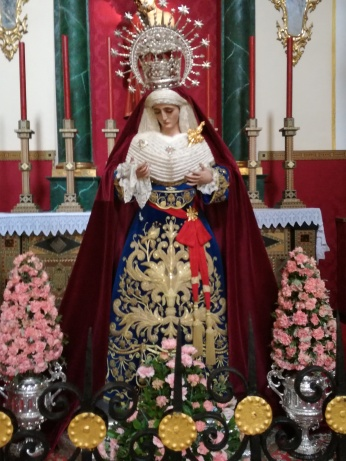 María Santísima de las Maravillas, atribuida a Pedro de Mena. San Pedro y San Pablo