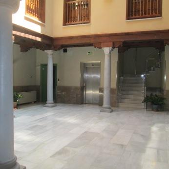 Patio. Casa del Padre suárez. Realejo. Granada.