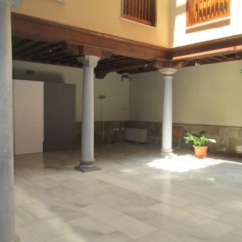 Patio. Casa del Padre Suárez. Realejo. Granada