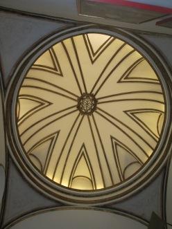 Cúpula de la escalera. Casa de los Tiros. Realejo. Foto: Francisco López