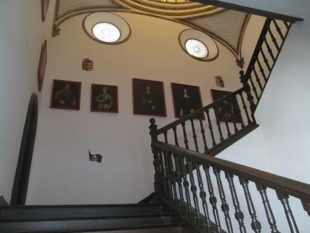 Escalera principal. Casa de los Tiros. Realejo. Foto: Francisco López
