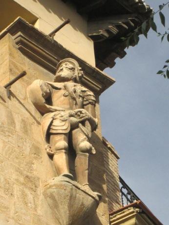 Héctor. Casa de los tiros. Realejo. Granada. Foto: Francisco López