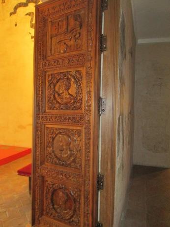 Puerta Cuadra Dorada. 1er cuarto lema de la familia. Casa de los Tiros. Foto: Francisco López