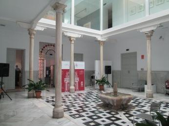 Patio. Palacio de los Condes de Gabia. ealejo. Foto: Francisco López