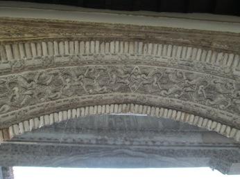 Arca de la puerta de acceso en el interior. Casa de los Girones. Realejo