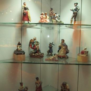 Figuras de la Sala de los barros. Museo Casa de los Tiros