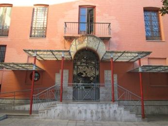Pérgola del patio del palacio de los duques de Gor. Realejo
