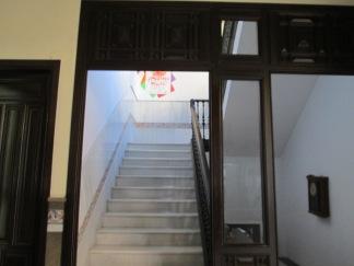 Escalera principal del palacio de los duques de Gor. Realejo
